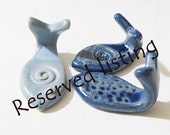 Reserved listing for Mariann 5 Sets of Fish Wall Hooks