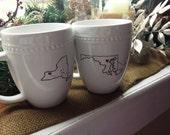 State Mugs - Long Distance!