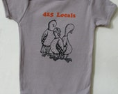 415 Locals- Organic Infant Short-Sleeve Onesie