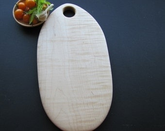 Cutting Board for the kitchen Tiger Maple ready to ship
