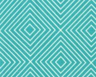 Michael Miller - Diamonds in Teal - By The Yard