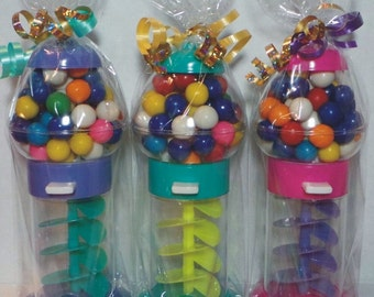 "Gumball Machine with 60 Gumballs - Giftwrapped NON-Personalized / 7.25"" Tall"