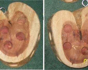 Cedar Heart shaped Birdfeeder ~~~