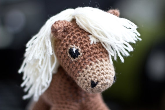 Sally the amigurumi pony PATTERN / Horse Pattern ...
