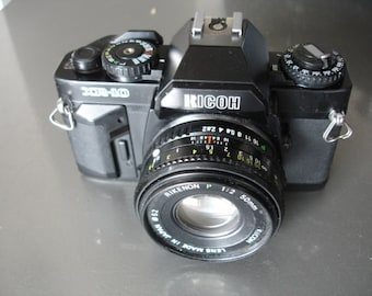 Very Nice Vintage Ricoh XR-10 35MM Camera - We have a vintage camera for you. See our Entire Collection