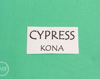 One Yard Cypress Kona Cotton Solid Fabric from Robert Kaufman, K001-1474