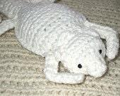 Custom Crocheted Bearded Dragon Plushie
