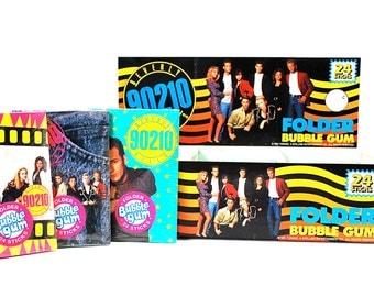 24 90210 Bubble Gum Folders Entire Box Case Fresh 1991