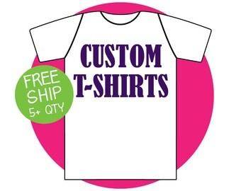 Custom T Shirts Tops Tee Shirts T-Shirts Personalized
