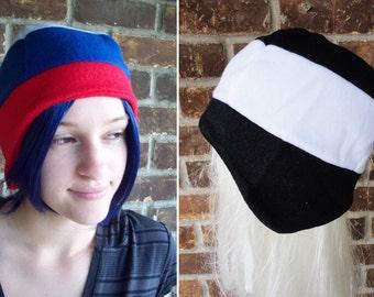 Russia or Prussia Flag Hat - Fleece Hat Adult, Teen, Kid - A winter, nerdy, geekery gift!