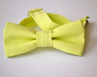 SALE Bowtie Boys Ages 2-10 in Light Green