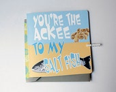 You're The Ackee To My Saltfish Caribbean/ Valentines Card, Anniversary Card, Love Card