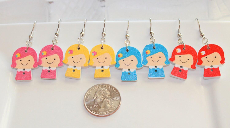 little girls jewelry little girls earrings by. Black Bedroom Furniture Sets. Home Design Ideas