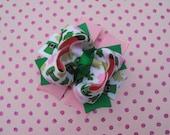 St. Patrick's Day Leprechaun Boutique Bow