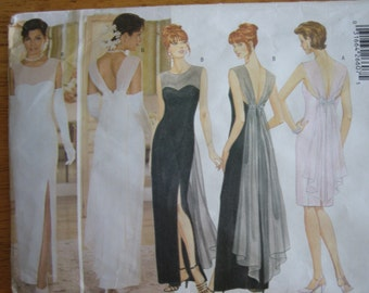 Butterick Pattern 5302 Misses' Dress 1997  Uncut