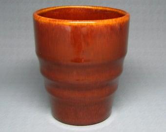 franciscan gladding mcbean EL PATIO tumbler redwood glaze ring ringware califor