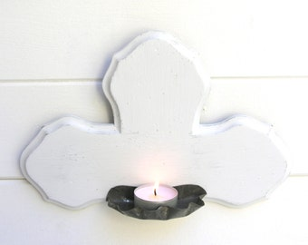 French Wall sconce for small candle.