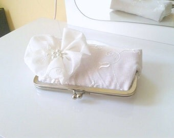 Bridal- Bridesmaid Clutches- Purse Lace Bridal Accessories-Bridesmaids clutches,Bridal Clutch,Bridesmaid clutch, Wedding Clutch,