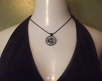 BDSM Necklace - Choose Black or Silver
