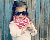 Poncho.Dean- Chevron INFINITY Scarf- Baby Toddler Kid Teen Scarves