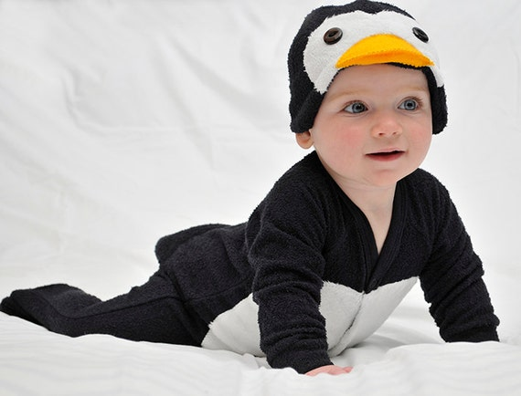 0 3m Wedding Penguin Suit Tuxedo Baby Onesie Costume With