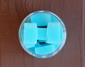 Sugar Scrub Cubes - Just Beachy - 8 ounce Jar