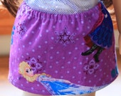 Disney Frozen Elsa and Anna skirt for AG or 18 inch Doll