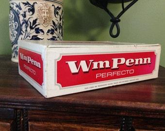 Vintage tobacco old cigar box storage decorative advertising