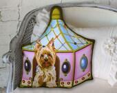 Dog Pillow - Yorkshire Terrier