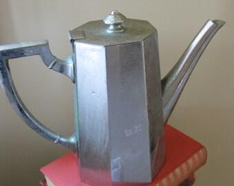 ReinNickel Antique Coffee Pot