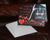 Darth Vader - Valentine's Day Card