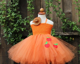 Apple Jack Tutu Dress - My Little Pony - Applejack costume - Applejack cosplay - Applejack pony dress