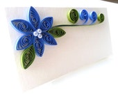 Wedding Place Card Paper Quilled SAMPLE Listing