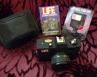 Life Magazine 35mm Camera w/Case