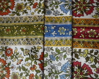 SALE Vintage over 4 yards Waverly Provincetown glosheen three color combinations
