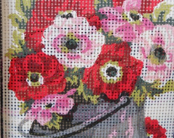 Needlepoint Kit Flowers