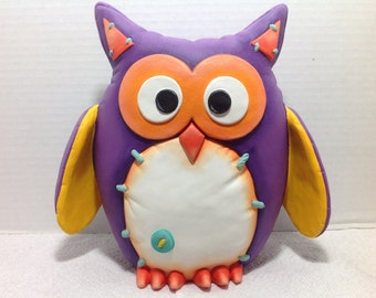 Ceramic Felty Owl