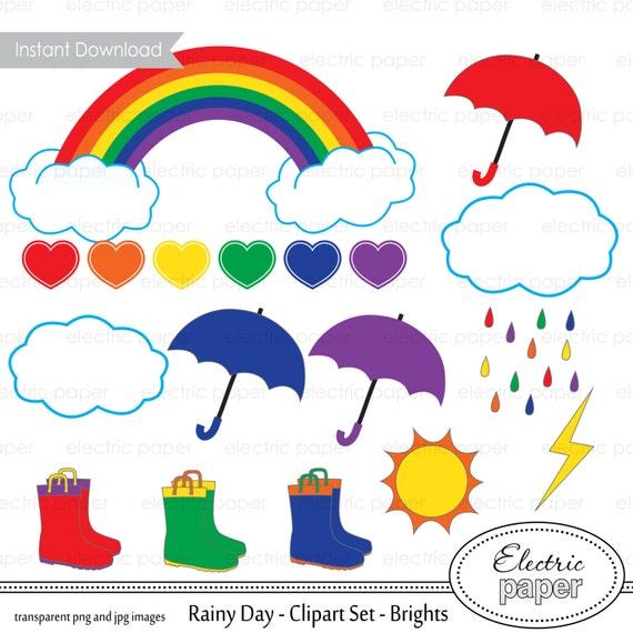 rainbow umbrella clip art - photo #34