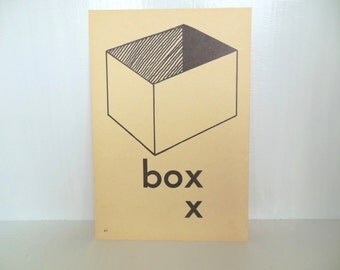"Vintage Picture Flash Card Box Large (8"" by 5 1/2"") Paper Ephemera 1950's (item 12)"