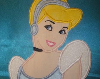 Princess Cindy iron on patch
