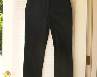 st john bay  black jeans 10