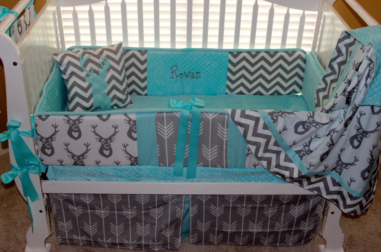 Tiffany Blue Baby Bedding Set