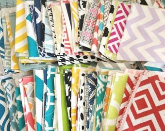 Extra EXTRA Large Fabric Scraps Assortment. Premier Prints Remnants. Home Decor Fabric Mix. Medium Flat Rate Box
