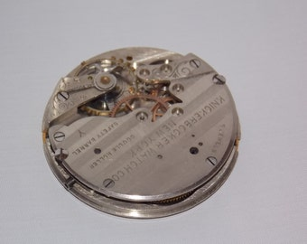Antique 43mm Pocket Watch Movement