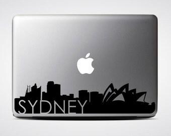 Sydney Skyline Macbook #3  / Macbook Sticker / Laptop Decal