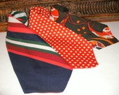 CLERANCE Vintage 1970's Homemade Men's Neck Ties