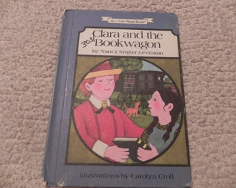 Clara and the Bookwagon - Vintage Book