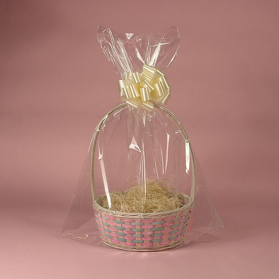 Size 24x30 Drop-in Basket Bags for Wrap/Seal Gift