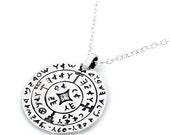 GATES OPENER  amulet, gifts,spirituality, silver, judaica,pendent,asiyadesign,art