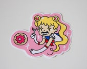 Awesome Sailor Moon Stickers (Plus Luna and a Donut!!)